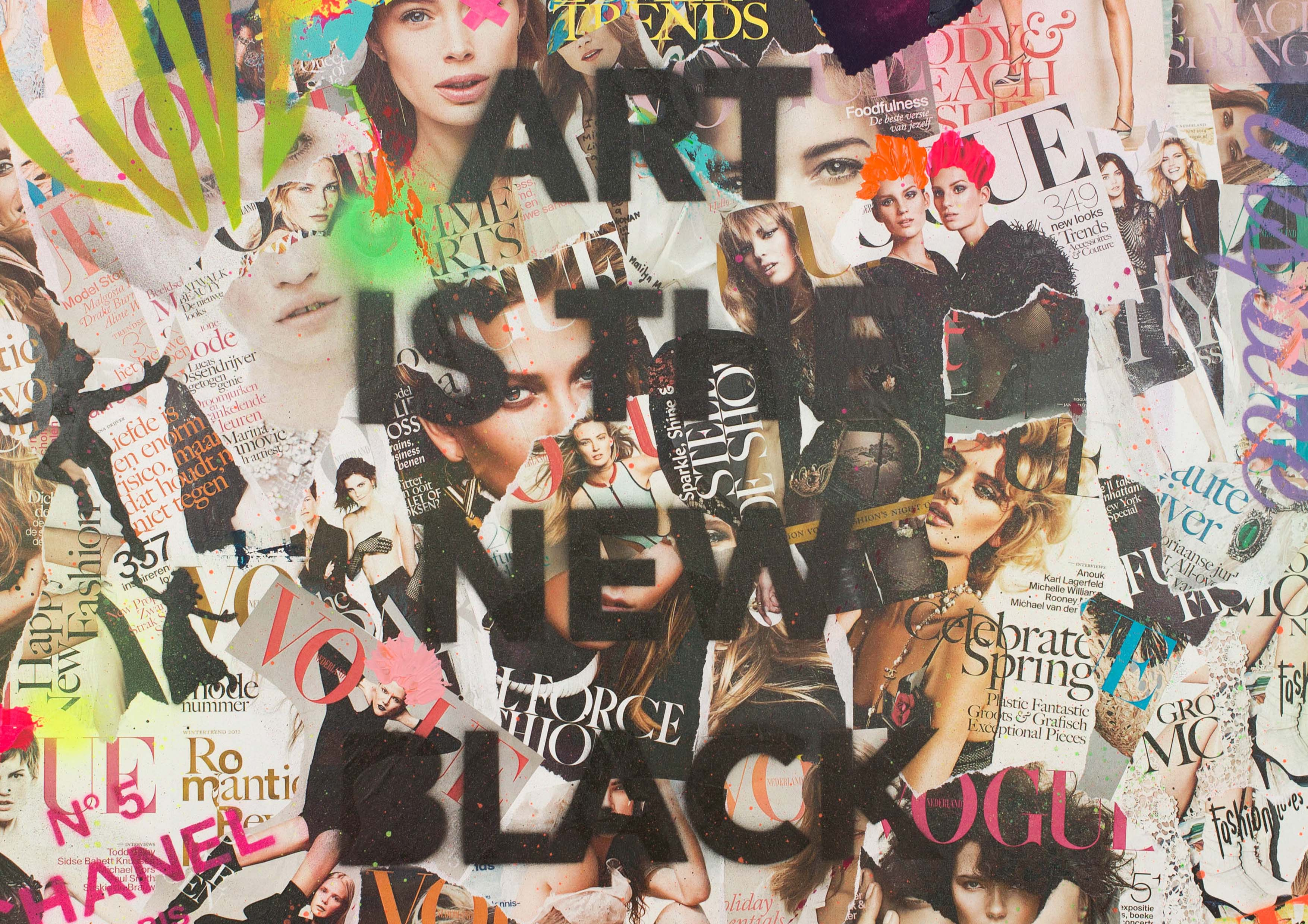 ART_MIXED-MEDIA_COLLAGE_FASHIONABLE_SOUP_CANVAS_DETAIL_2