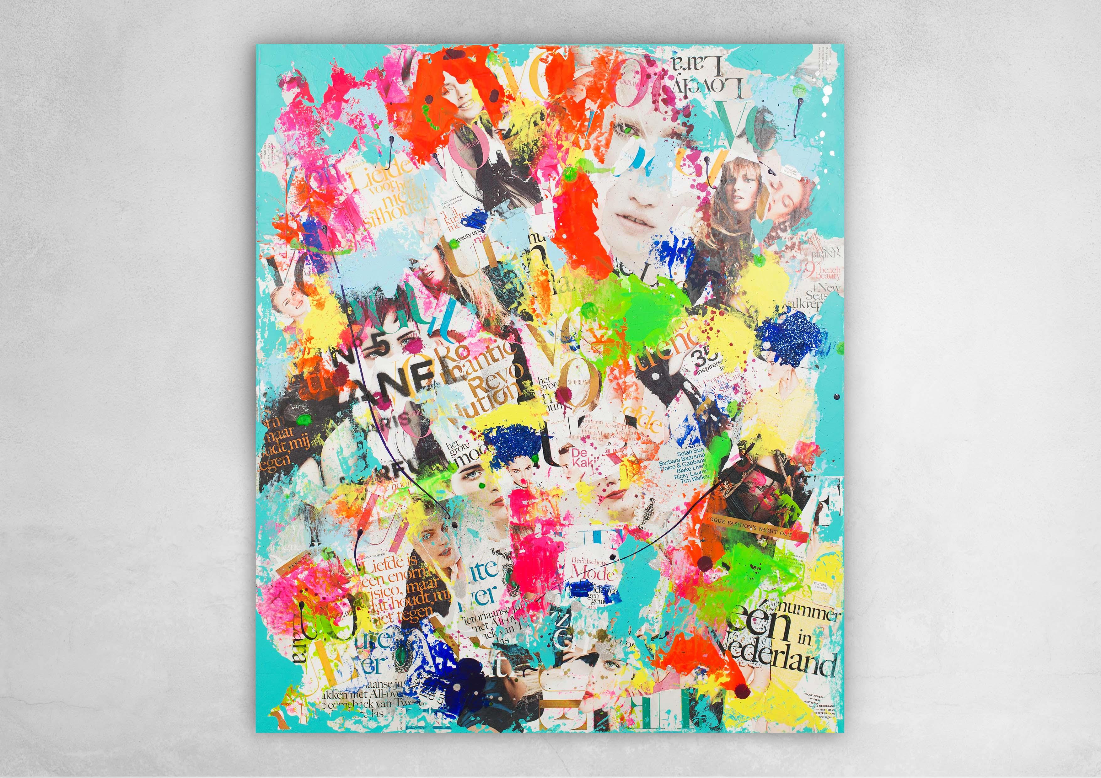 ART_MIXED-MEDIA_NEONIC_REVOLUTION_CANVAS_WALL