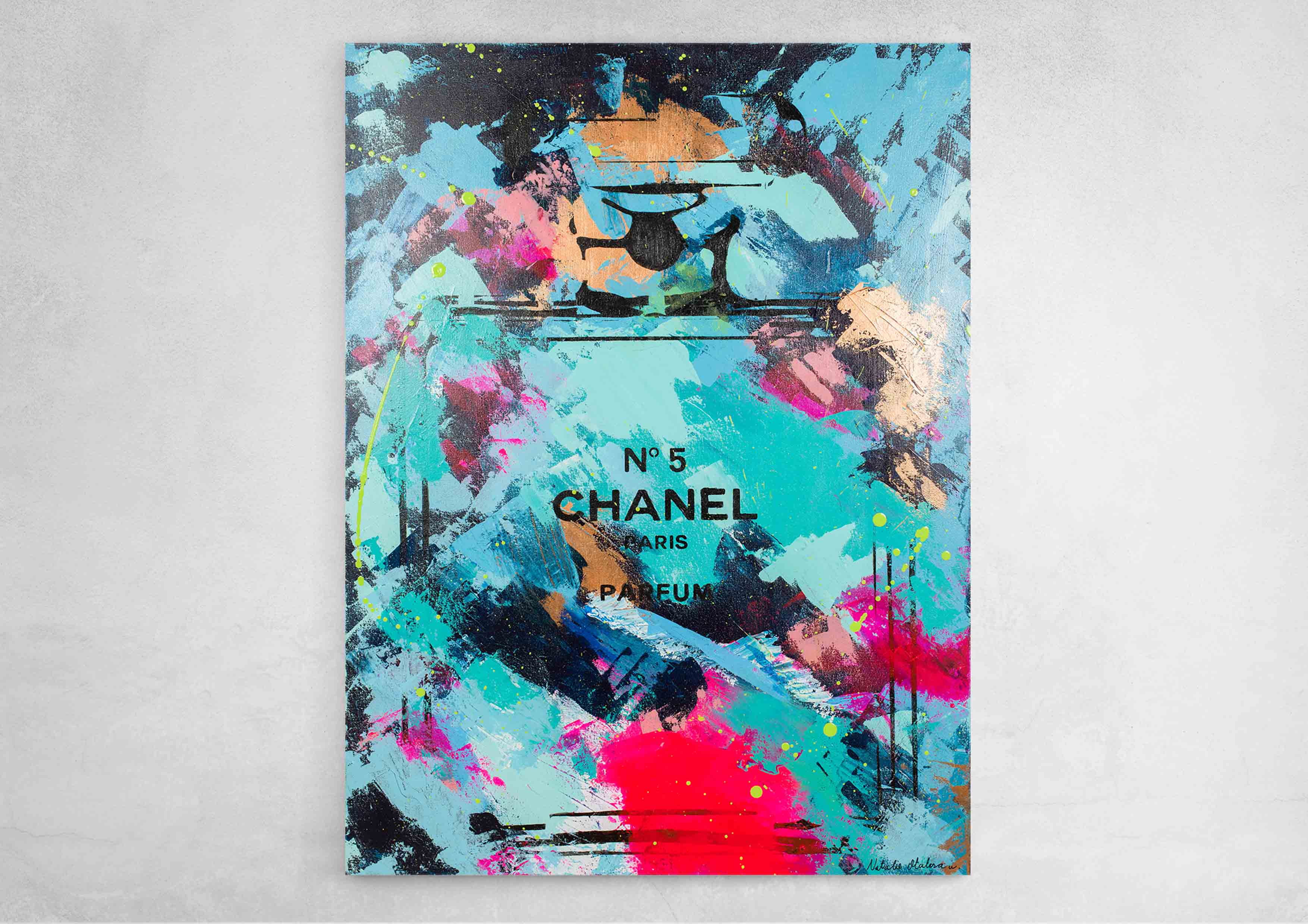 ART-PAINT-CHANEL-PERFUME-OBSESSION-CANVAS-WALL