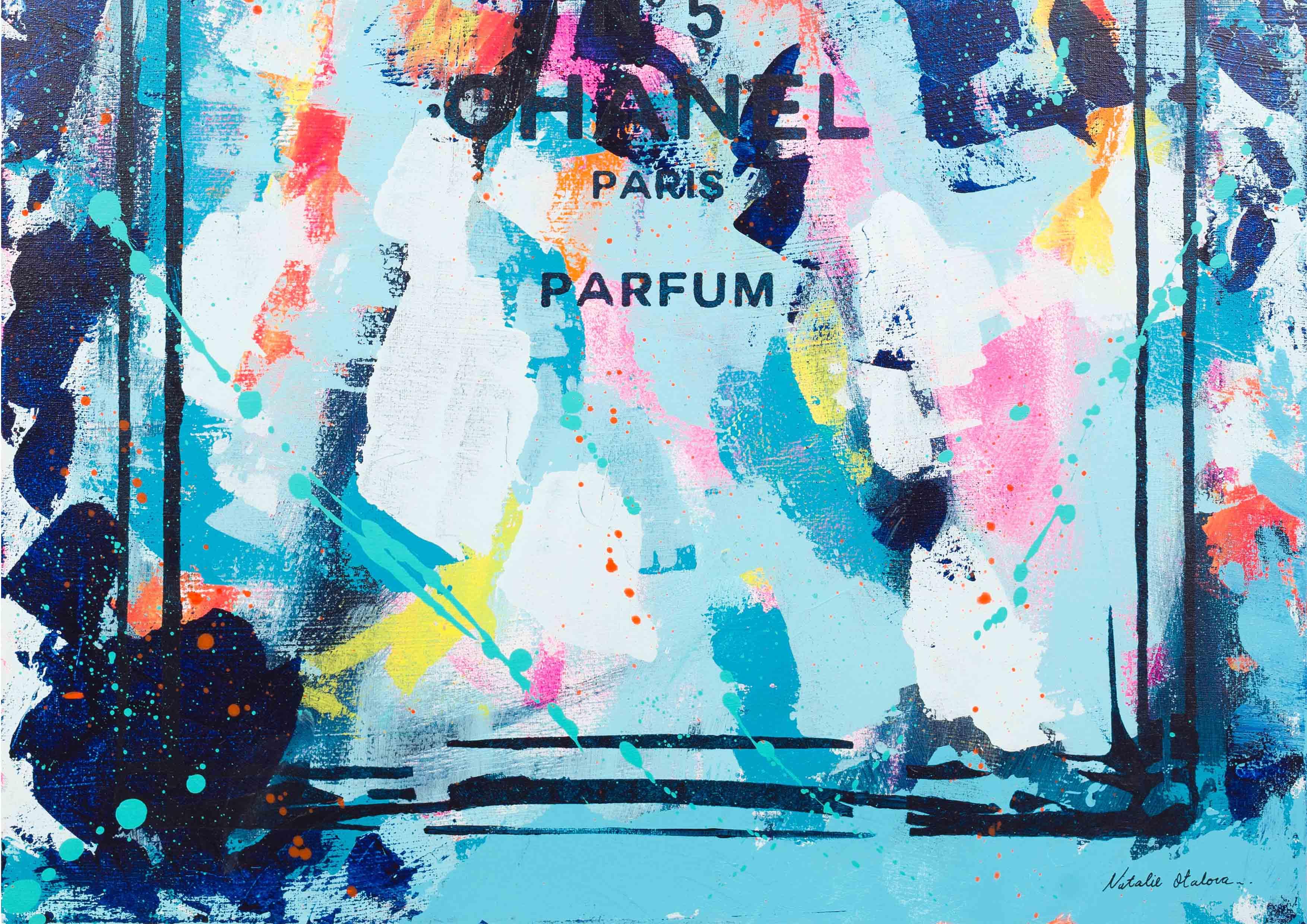 ART-PAINT-CHANEL-PERFUME-SWEET-COKTAIL-CANVAS-DETAIL-2