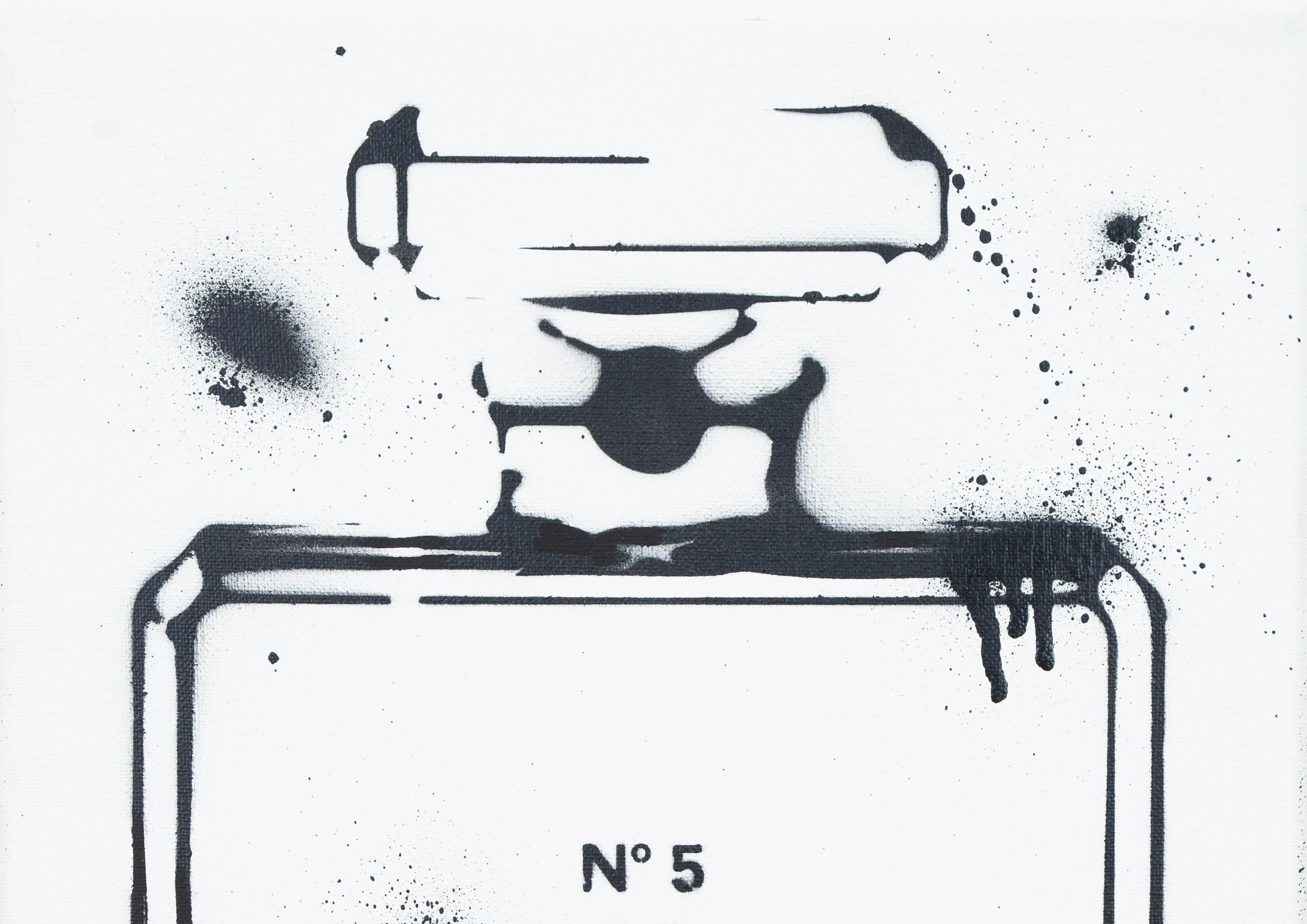 ART-PAINT-CHANEL-PERFUME-JUST-BLACK-CANVAS-DETAIL-2