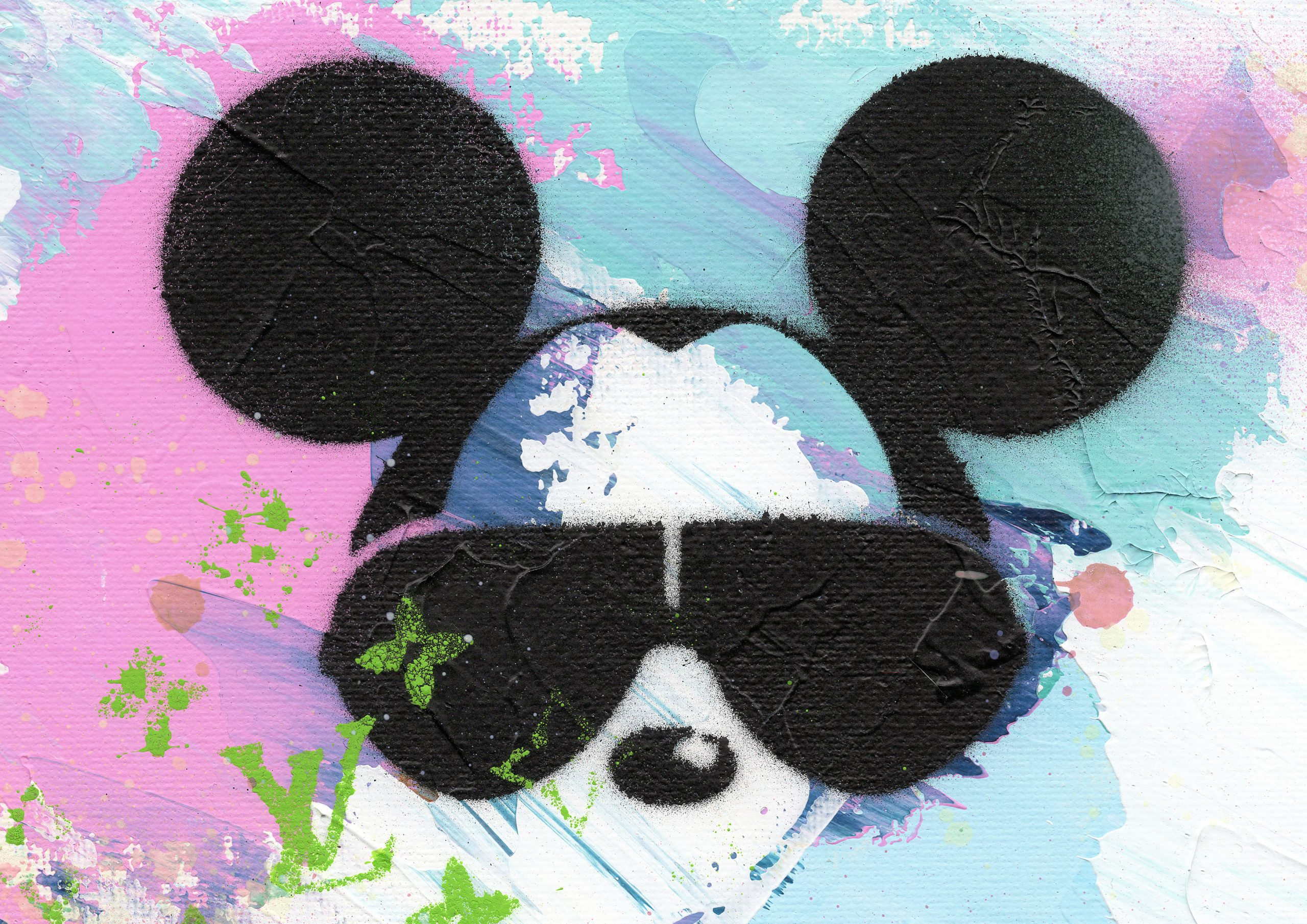 NATALIE-OTALORA-ART-GRAFFITI-MICKEY WANTS TO BE YOUR FRIEND-DETAIL1