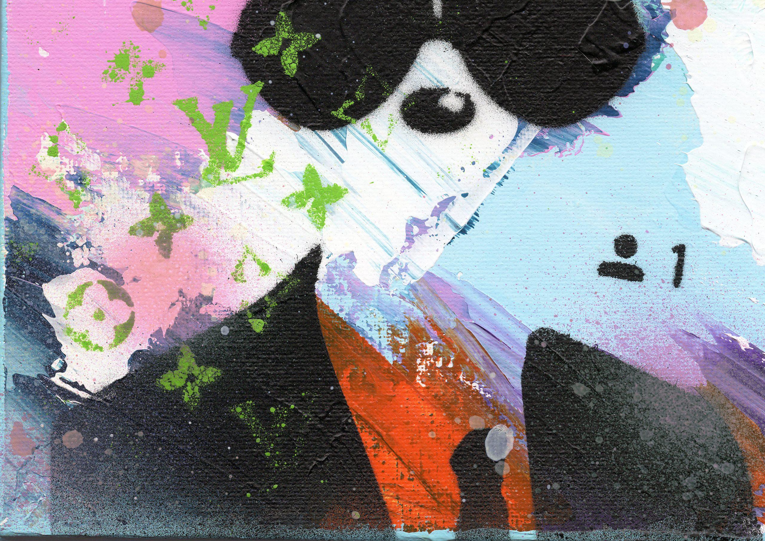 NATALIE-OTALORA-ART-GRAFFITI-MICKEY WANTS TO BE YOUR FRIEND-DETAIL2