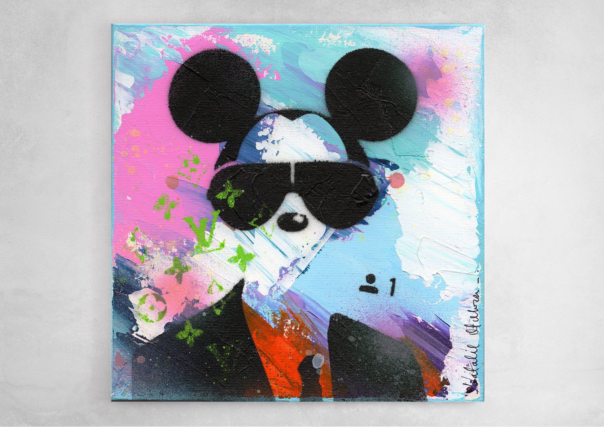 NATALIE-OTALORA-ART-NATALIE-OTALORA-ART-GRAFFITI-MICKEY WANTS TO BE YOUR FRIEND-WALL