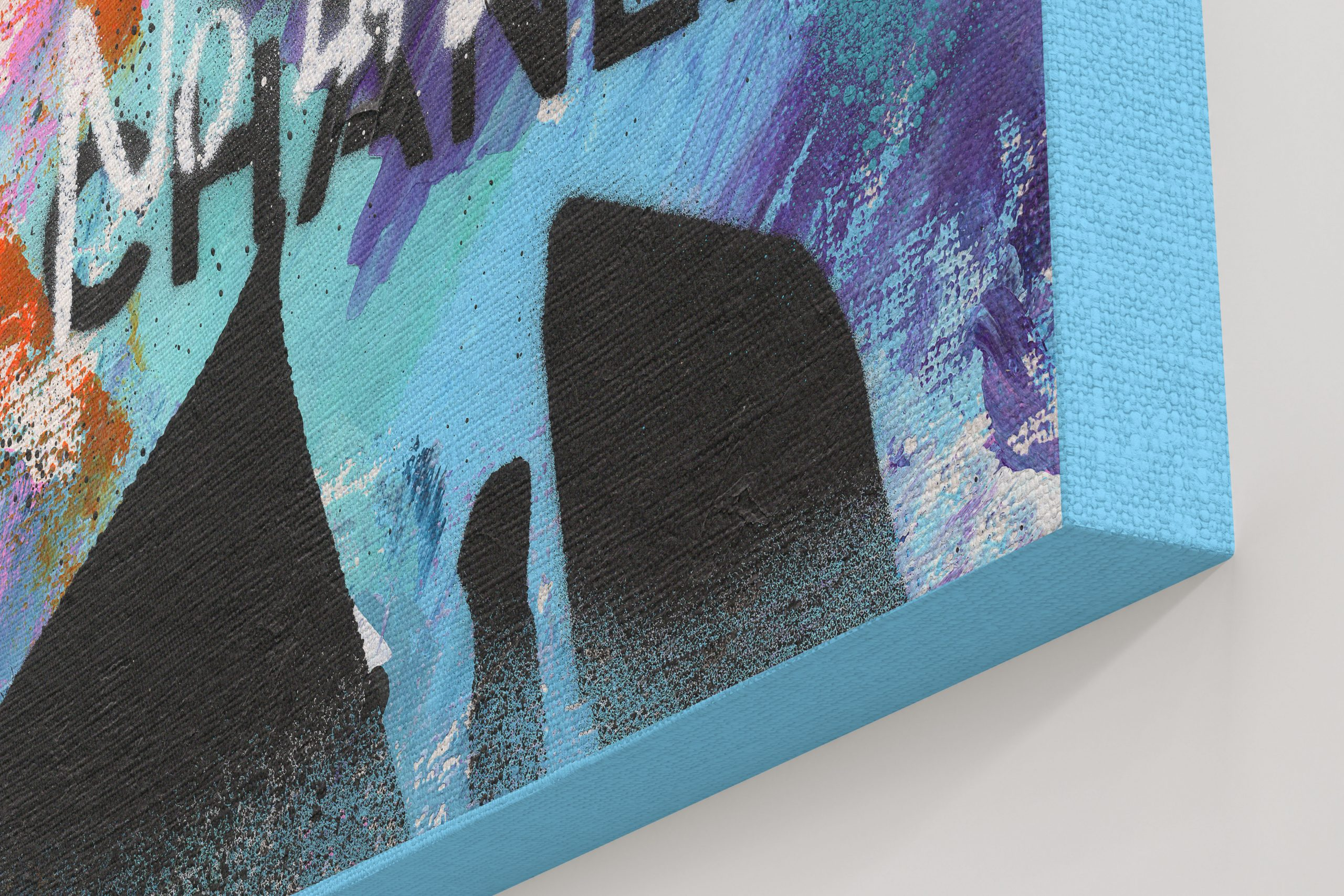 NATALIE-OTALORA-ART-NO-LIKES-NO-CHANEL-GRAFFITI-PAINTING-CLOSEUP.JPG