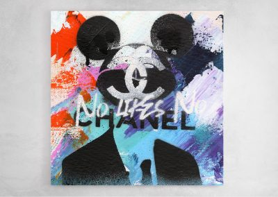 Mickey No Likes No Chanel babe