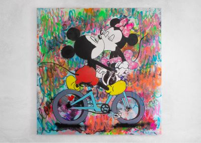 Mickey & minnie from amsterdam with love