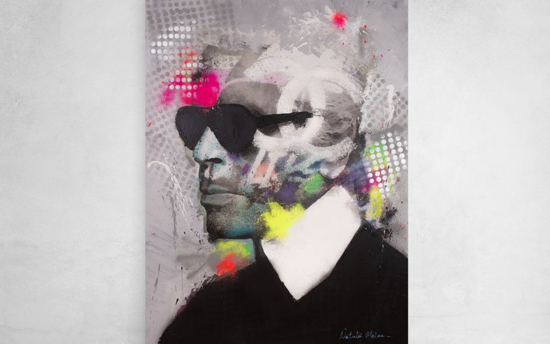 Karl Lagerfeld Going Disco