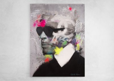 Karl Lagerfeld Going Disco