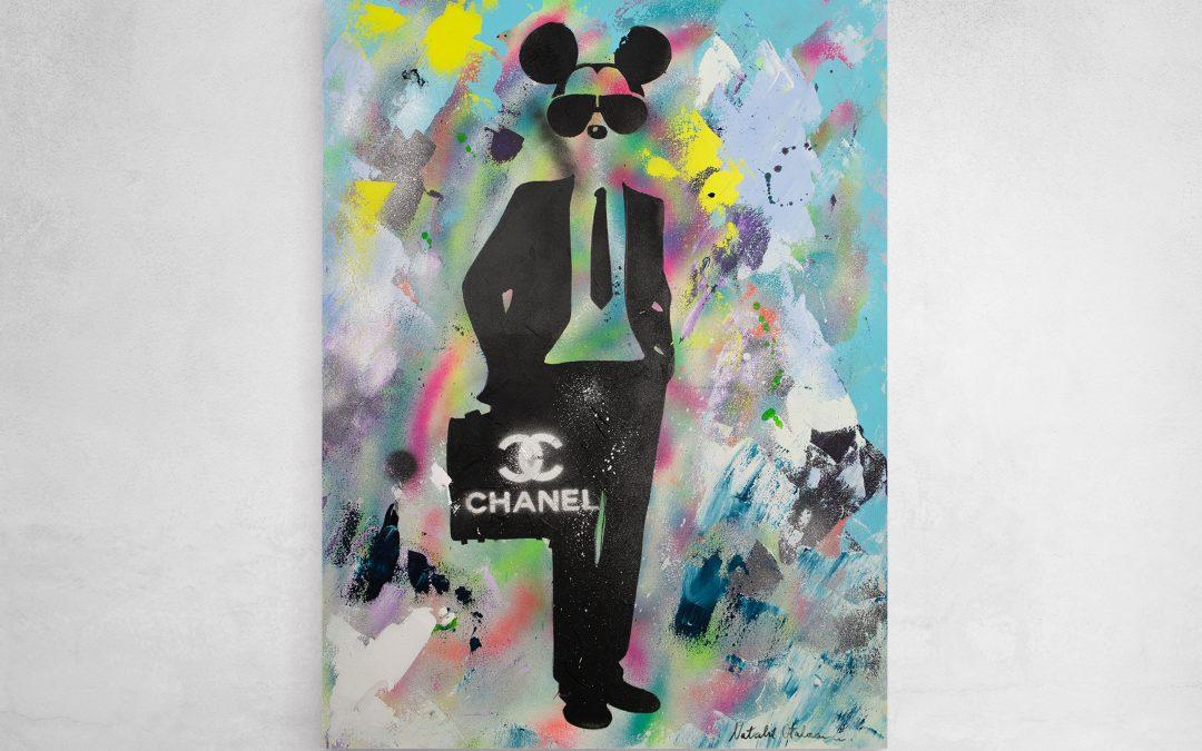 Mickey Business Monkey on Chanel