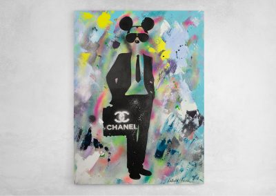 Mickey Business Monkey on Chanel