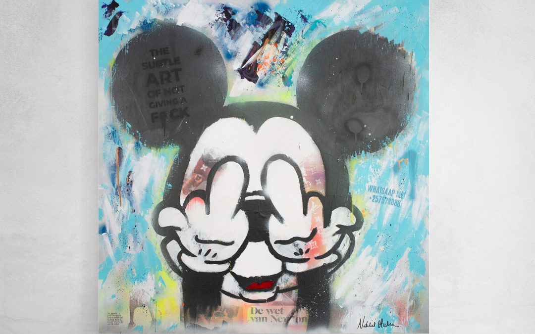 Mickey No fear for what they think