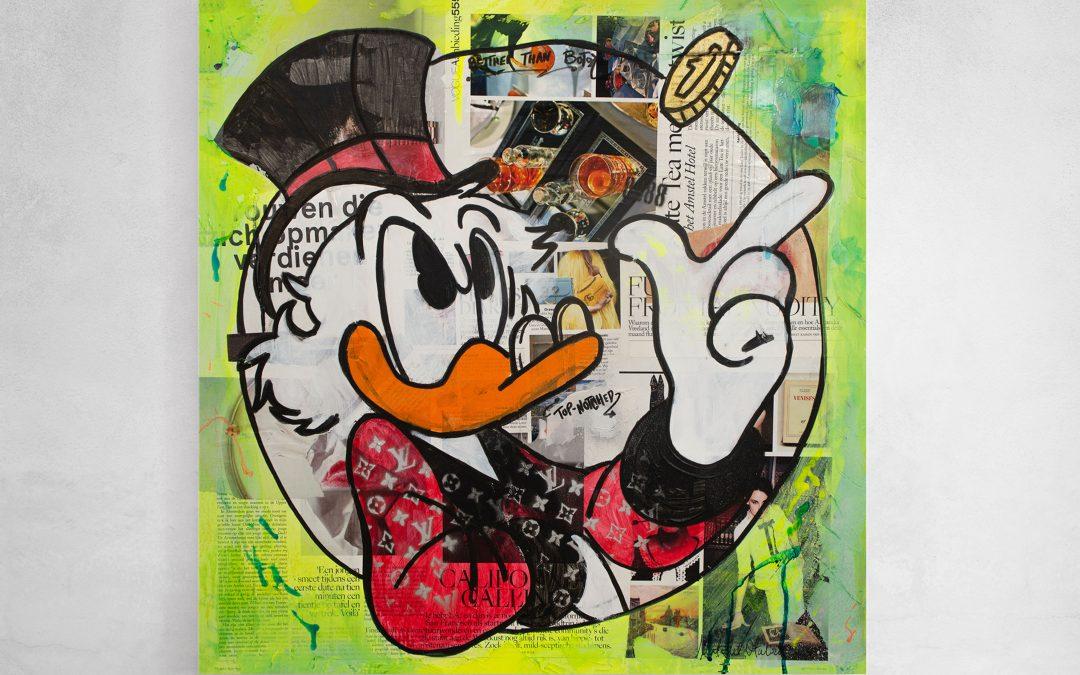 Uncle Scrooge Top-notch & Louis Vuitton