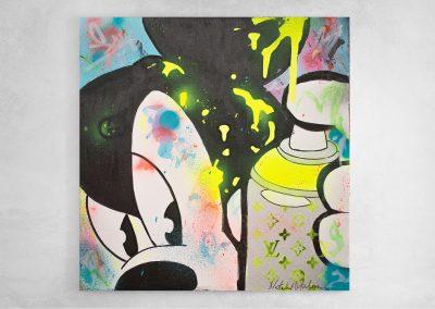 Mickey Mouse beautiful creative mess
