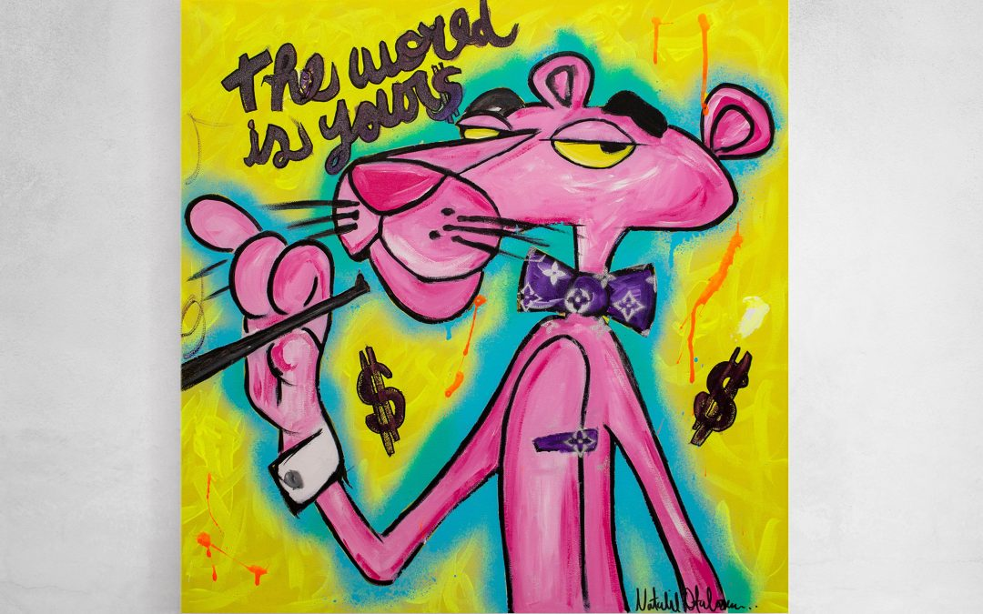 The world is pink, the world is yours